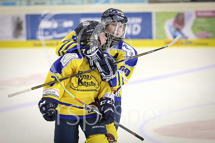 Eishockey, Knaben, Landesliga, Saison 2018/2019, Spiel 4, 21.10.2018, Geretsried - EC Pfaffenhofen, Foto: Ralf L