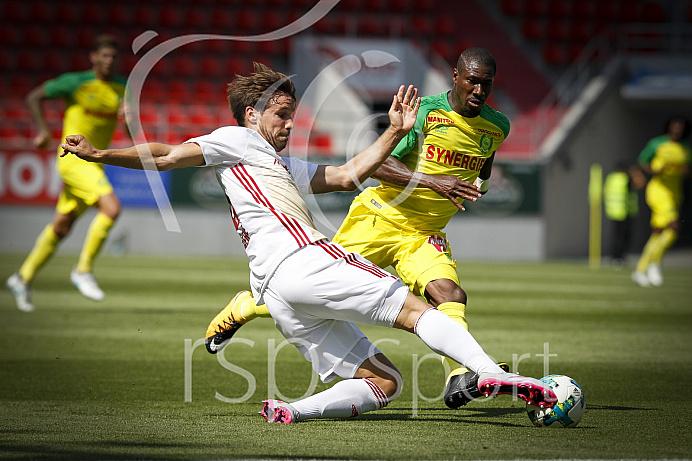 Fussball, 2. Bundesliga, Saison 2017/2018, FC Ingolstadt - FC Nantes