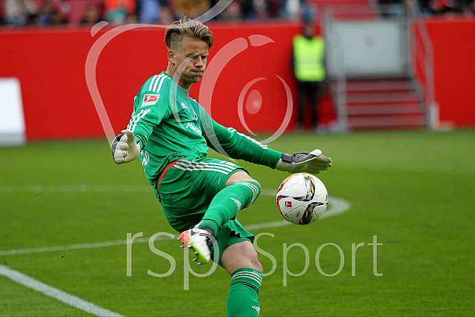 1. BL - Saison 2015/2016 - FC Ingolstadt 04 - Hannover 96
