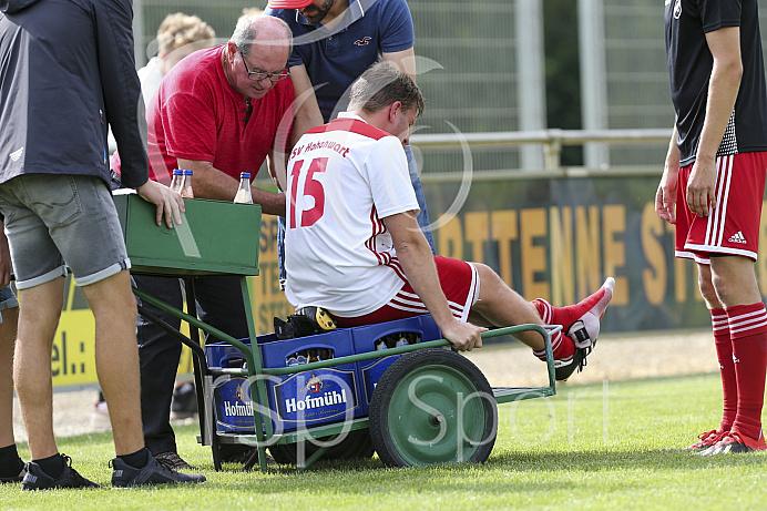 Fussball - Herren - Kreisliga Donau/Isar- Saison 2019/2020 - SV Karlshuld - TSV Hohenwart -  - 10.08.2019 -  Foto: Ralf Lüger/rsp-sport.de