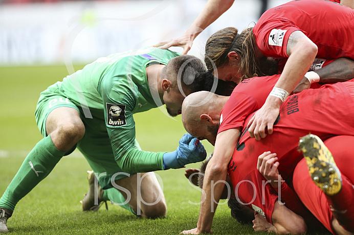 Fussball - 3. Bundesliga - Ingolstadt - Saison 2019/2020 - FC Ingolstadt 04 - M1. FC Kaiserlautern - 01.02.2020 -  Foto: Ralf Lüger