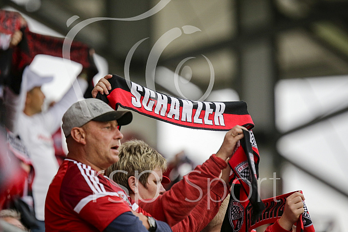 Fussball, 2. Bundesliga, Saison 2017/2018, FC Ingolstadt - Erzgebirge Aue