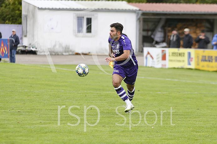 Fussball - Herren - Landesliga Südwest - Saison 201972020 - VFR Neuburg/Donau - SpVgg Kaufbeuren - 05.10.2019 -  Foto: Ralf Lüger/rsp-sport.de