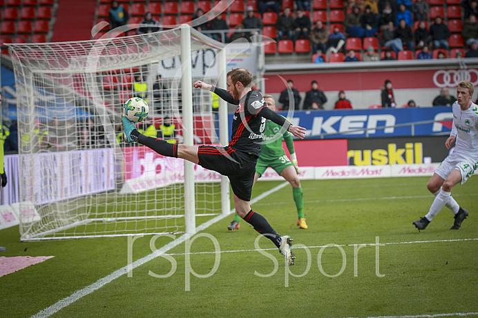 Fussball, 2. Bundesliga, Saison 2017/2018, 3.2.2018, FC Ingolstadt - SpVgg Greuther Fürth