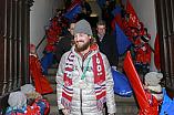 Olympia-Feier am 3.03.18 in Deggendorf für Timo Pielmeier (#51 Torwart ERC)